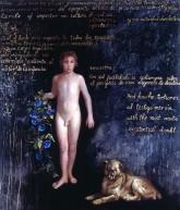 Domingo Barreres. Boy Imposter. 2002. Mixed Media/canvas