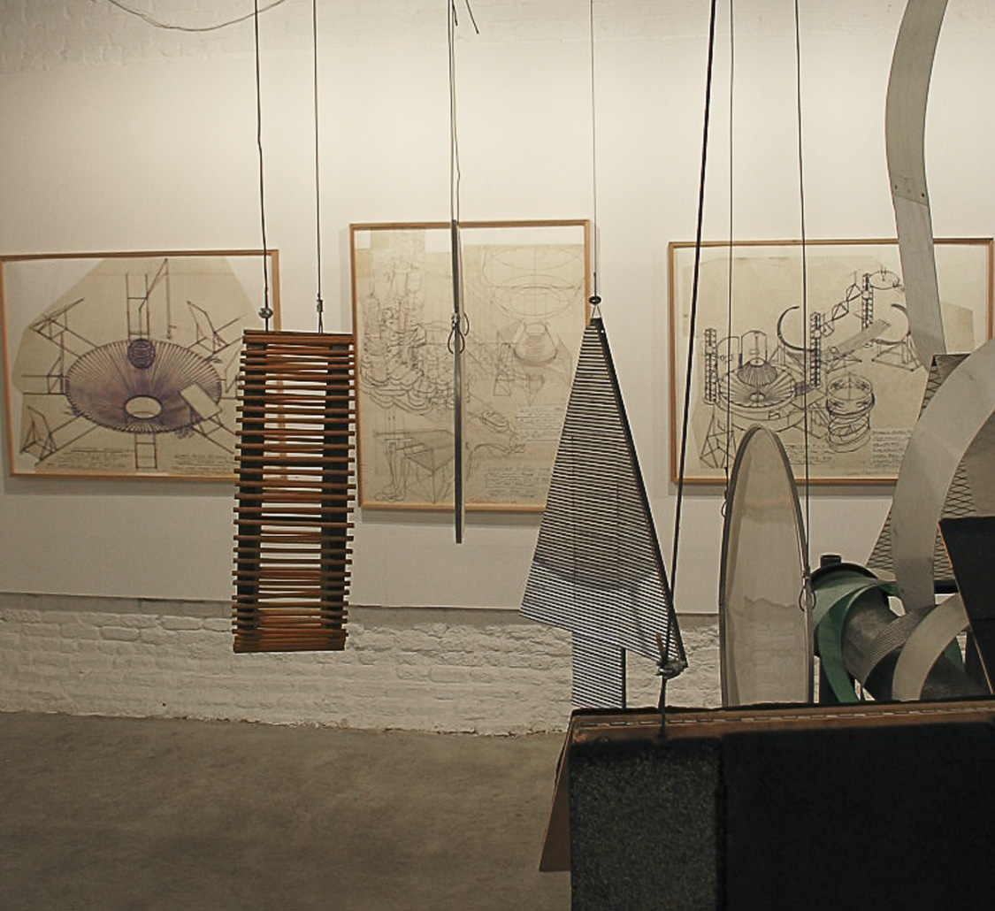 Dennis Oppenheim Armatures for Projection: The Early Factory Projects. Curated by Raul Zamudio. White Box, 2004 (28)