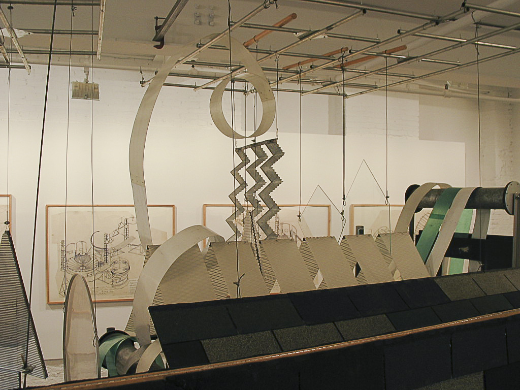 Dennis Oppenheim Armatures for Projection: The Early Factory Projects. Curated by Raul Zamudio. White Box, 2004 (27)
