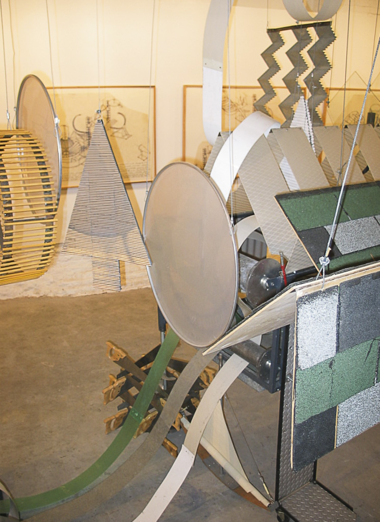 Dennis Oppenheim Armatures for Projection: The Early Factory Projects. Curated by Raul Zamudio. White Box, 2004 (26)
