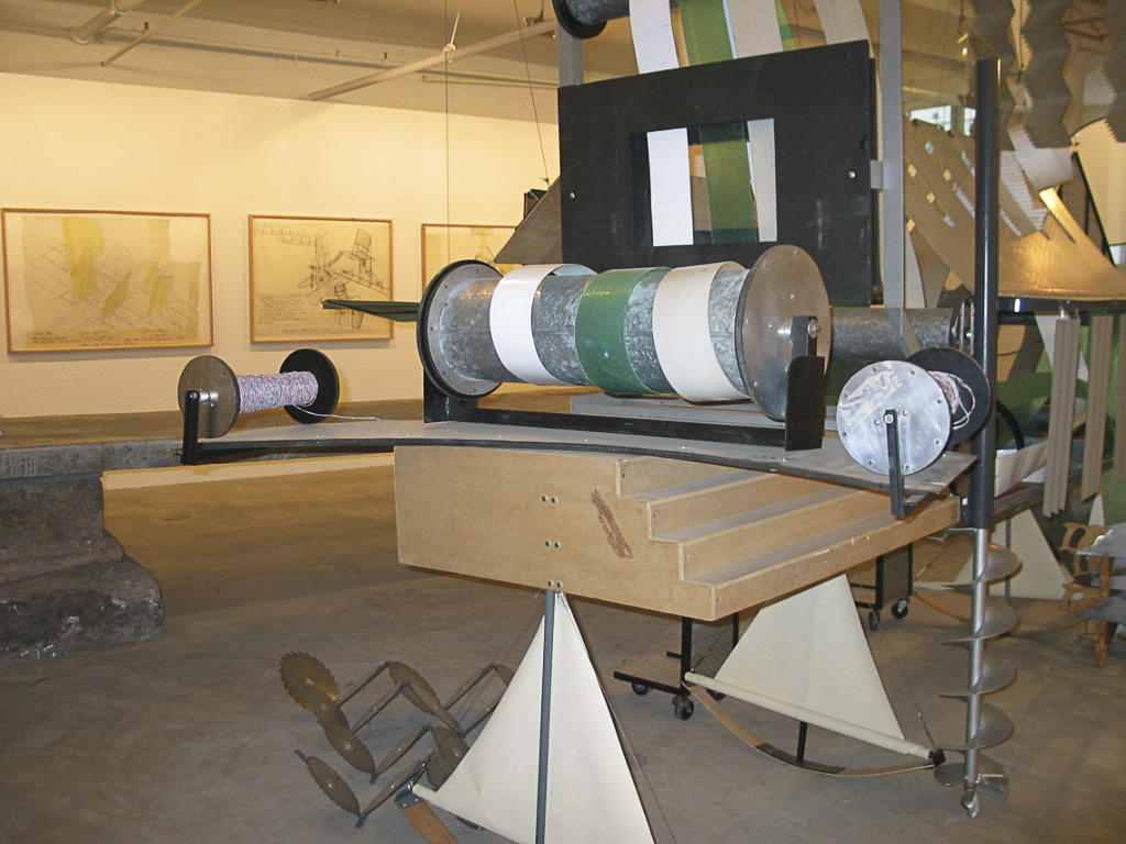 Dennis Oppenheim Armatures for Projection: The Early Factory Projects. Curated by Raul Zamudio. White Box, 2004 (23)