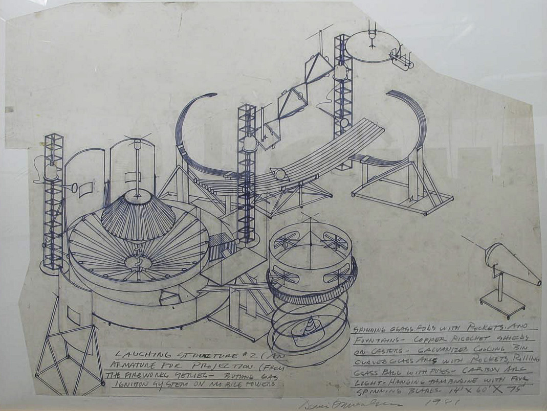 Dennis Oppenheim Armatures for Projection: The Early Factory Projects. Curated by Raul Zamudio. White Box, 2004 (21)