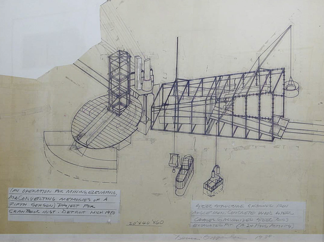 Dennis Oppenheim Armatures for Projection: The Early Factory Projects. Curated by Raul Zamudio. White Box, 2004 (20)