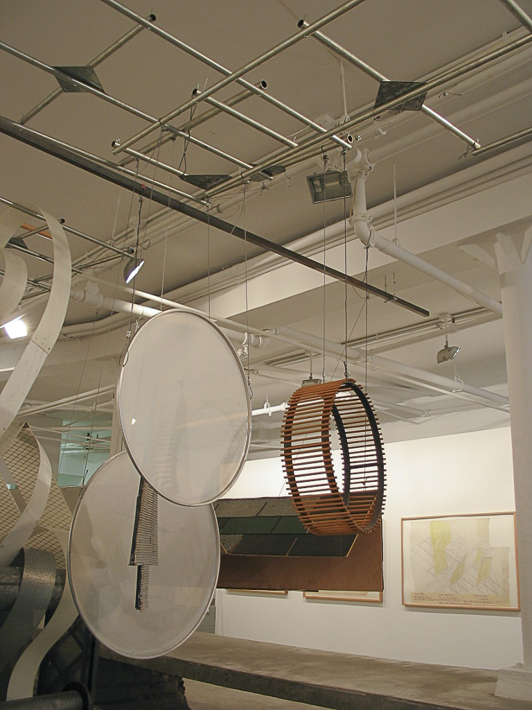 Dennis Oppenheim Armatures for Projection: The Early Factory Projects. Curated by Raul Zamudio. White Box, 2004 (15)