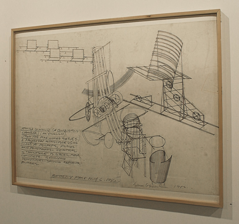 Dennis Oppenheim Armatures for Projection: The Early Factory Projects. Curated by Raul Zamudio. White Box, 2004 (11)