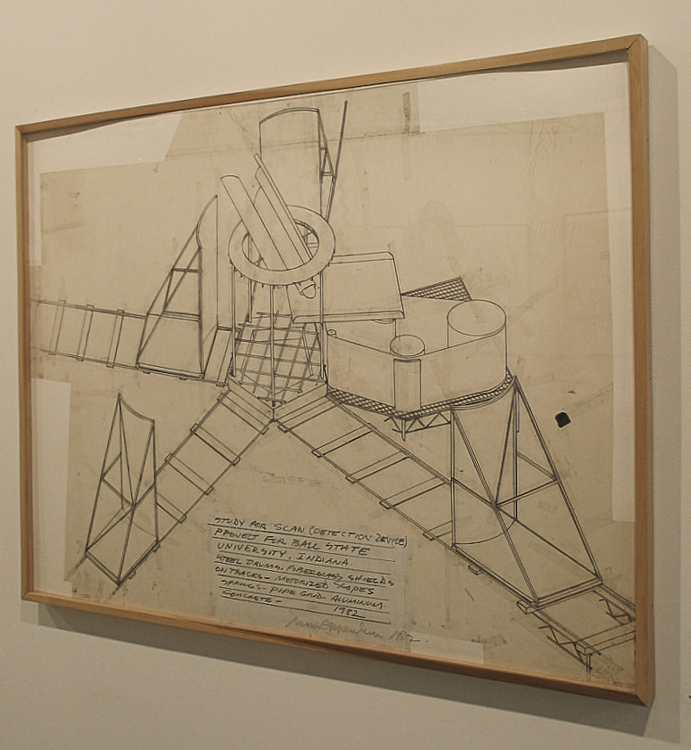Dennis Oppenheim Armatures for Projection: The Early Factory Projects. Curated by Raul Zamudio. White Box, 2004 (10)