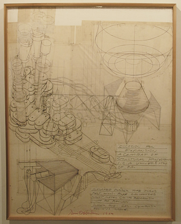 Dennis Oppenheim Armatures for Projection: The Early Factory Projects. Curated by Raul Zamudio. White Box, 2004 (8)