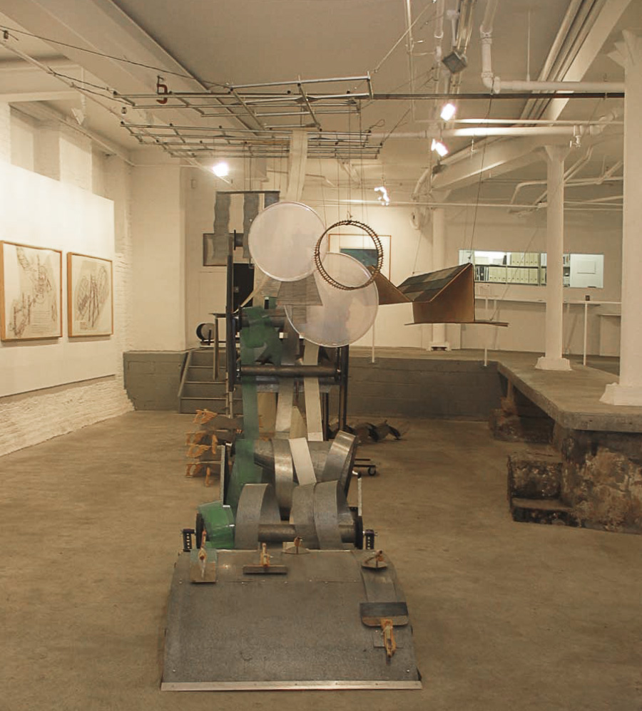 Dennis Oppenheim Armatures for Projection: The Early Factory Projects. Curated by Raul Zamudio. White Box, 2004 (7)