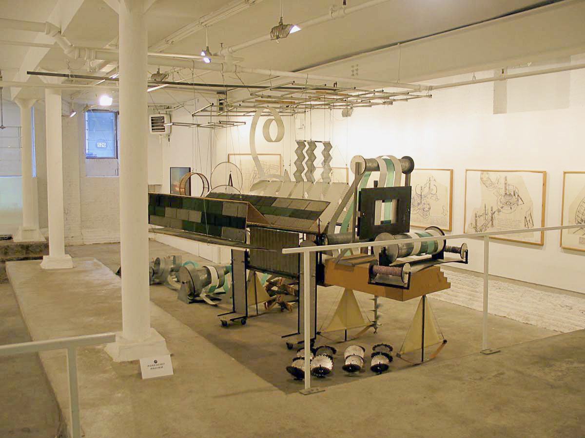 Dennis Oppenheim Armatures for Projection: The Early Factory Projects. Curated by Raul Zamudio. White Box, 2004 (5)