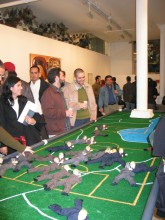 Democracy was Fun, Curated by Juan Puntes and Raul Zamudio, White Box, 2004