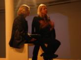 Annie Ratti and Iwona Blazwick