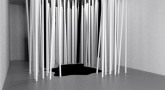 Tatyana Stepanova. Birch Forest Installation. Cardboard tubes coated with paper. 2003