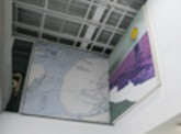 Tatyana Stepanova. Purple Ocean Diptych. 144 x 72 in. Acrylic on Canvas. 2006.