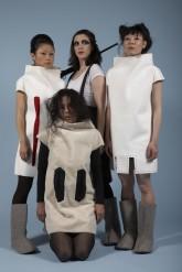 "Joanna Malinowska & Christian Tomaszewski, ""Mother Earth Sister Moon. Tunguska Fashion"", 2009, image from a photo session with Nicholas Wagner"