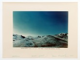 Dennis Oppenheim Branded Mountain (signed), 1969 produced 1977 Color Photograph 30 x 40 inches Courtesy of the Dennis Oppenheim Estate