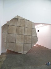 Dennis Mc Nulty Portal fragment Dropped ceiling framework, tiles and screws 2012