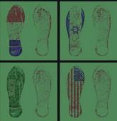 Nike Earth 2010 Digital print 240 × 100 cm