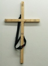 Wojtek Ulrich Social Security Space, 2012 Wood, seatbelt 57 x 33 x 1 ½ inches Courtesy of the artist