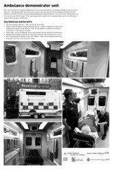 Finalist - HELEN HAMLYN CENTRE FOR DESIGN & VEHICLE DESIGN DEPARTMENT, ROYAL COLLEGE OF ART, London (UK) Redesigning the Emergency Ambulance