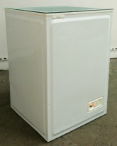 Michael Tong Cumsicles, 1997 Artist's semen and mixed media Portable freezer Courtesy of the artist