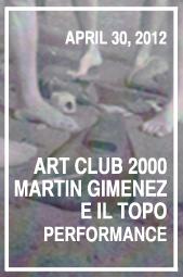 e_il_topo_performance_poster