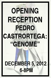 """Pedro Castrortega, """"Genome"""", White Box, 2012"""