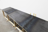 Jan Frank Ramp, 1975 Steel and wood 115 x 43 x 20 inches Courtesy of the artist