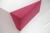 Jan Frank Pink piece, 1975 Paint 35 x 15 x 12 inches Courtesy of the artist