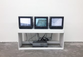 Jan Frank Corner, 1975 Video, loop Jan Frank Down, 1975 Video, loop Jan Frank Up Above, 1975 Video, loop