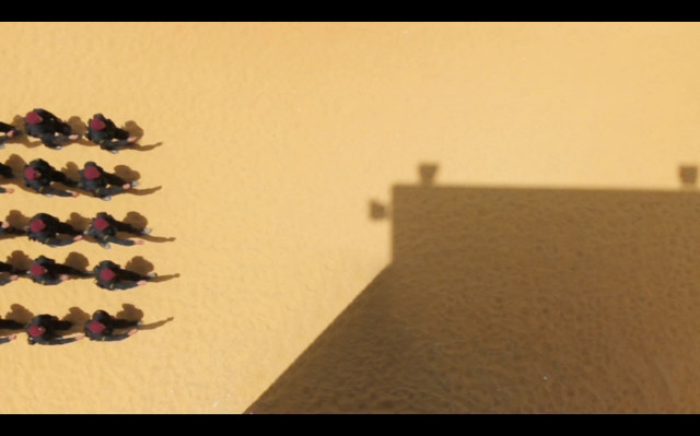 "Still from Khaled Jarrar's ""I. Soldier"""