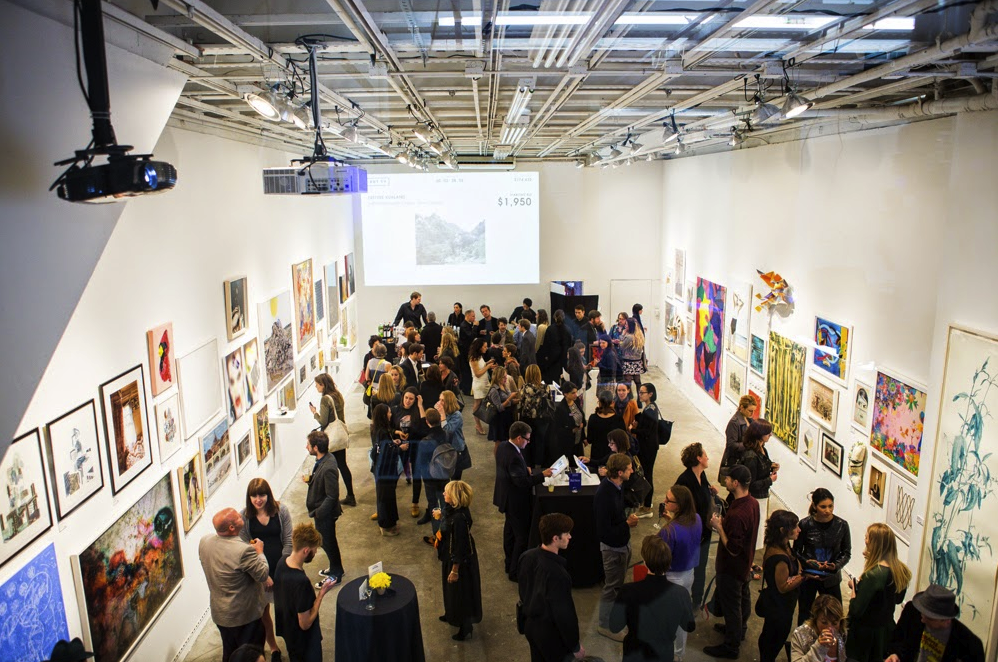 BAM 2014 auction at Whitebox Art Center