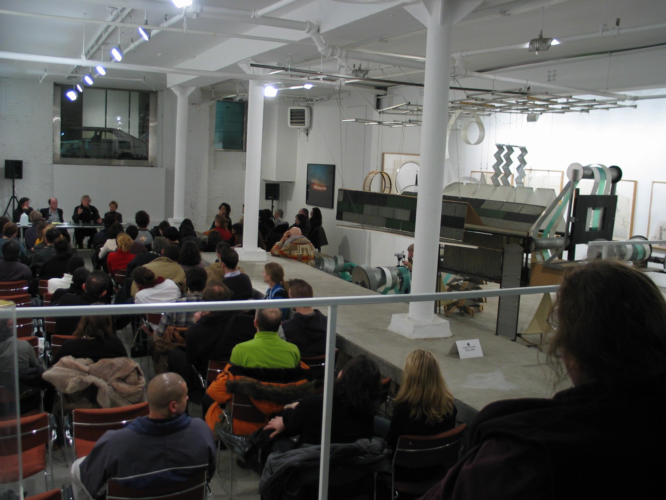 Dennis Oppenheim - Opening at WhiteBox 1