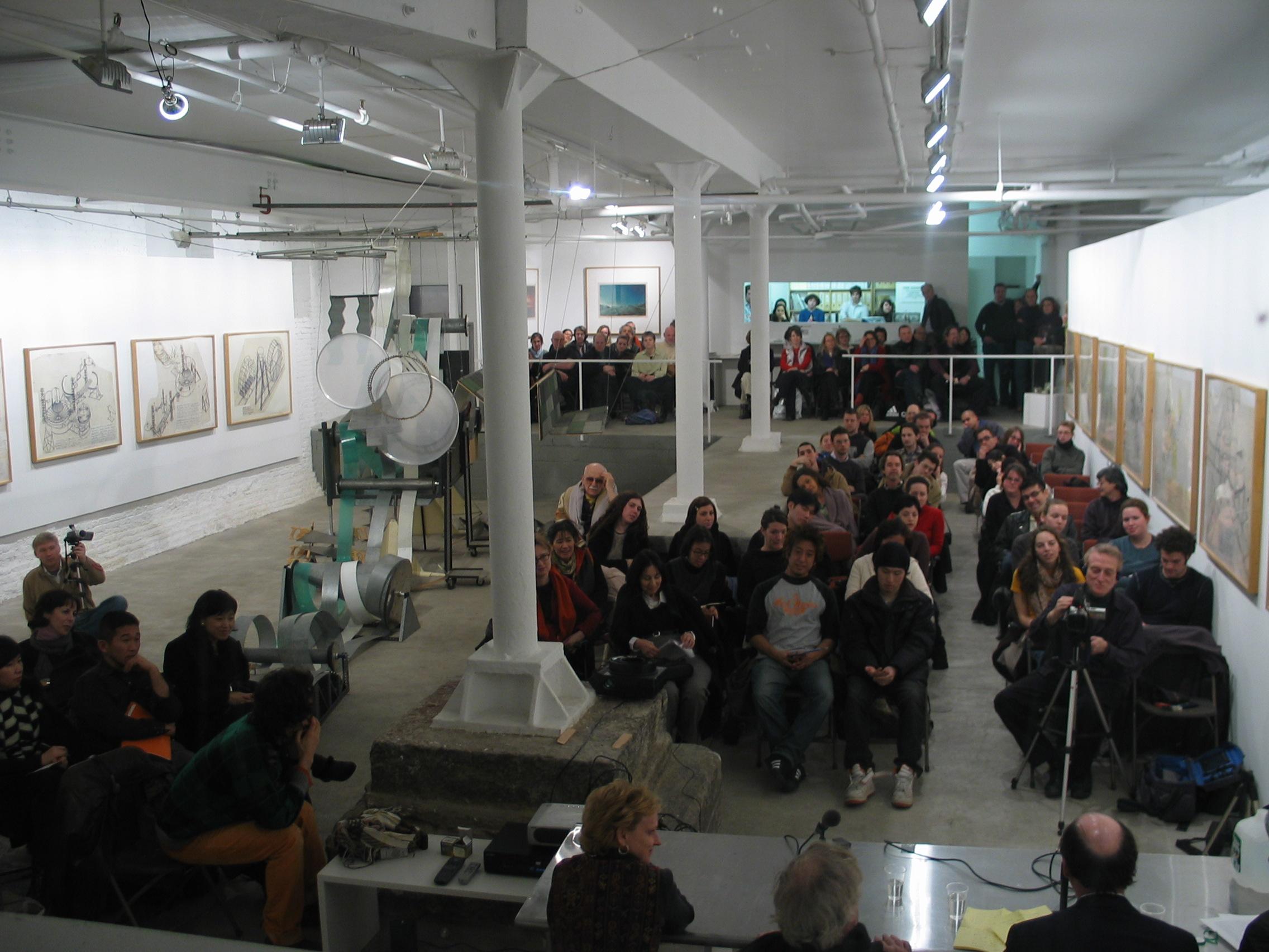 Dennis Oppenheim - Opening at WhiteBox_1259