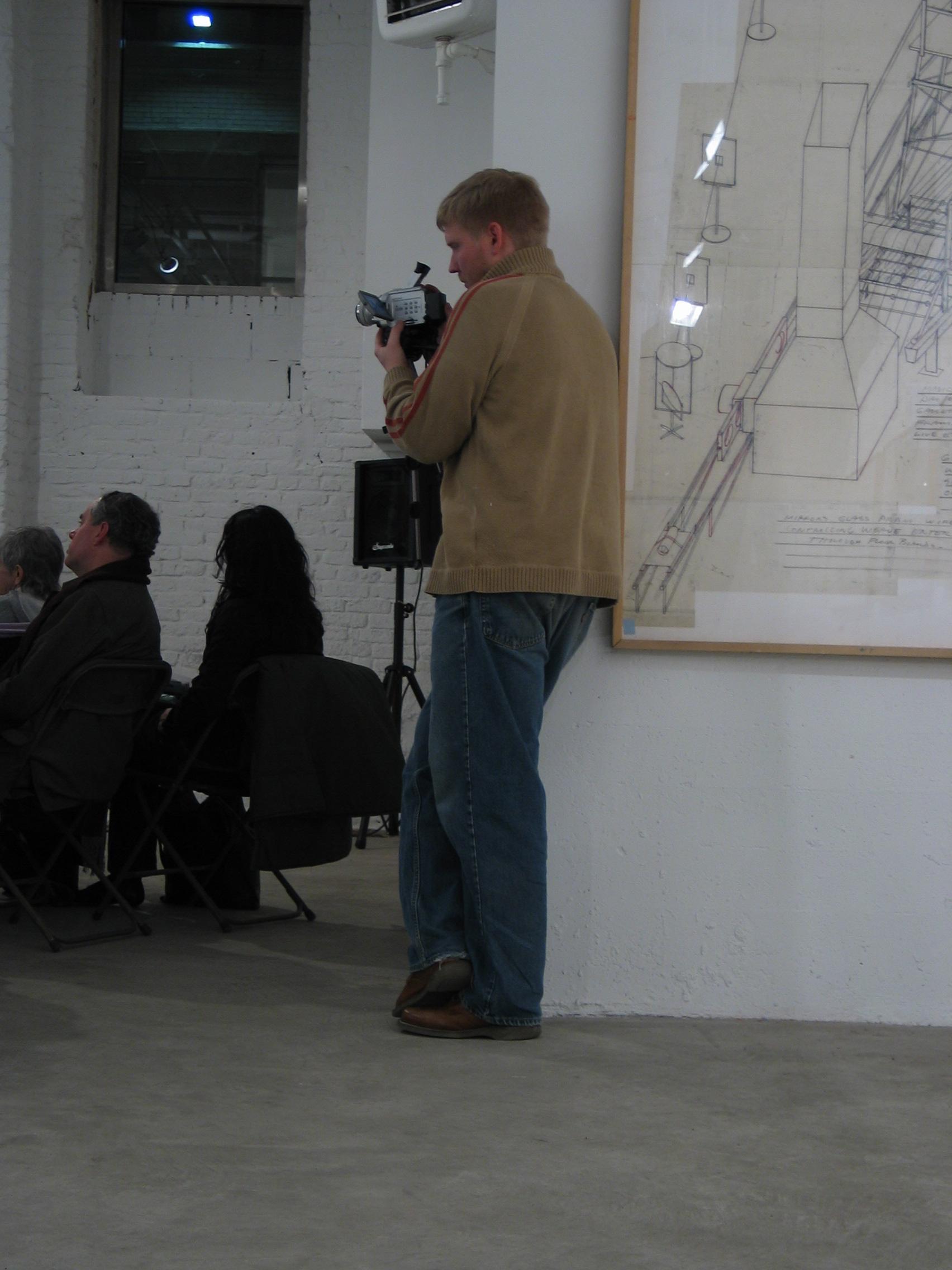 Dennis Oppenheim - Opening at WhiteBox_1298