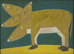 Sava Sekulić, The Pig with the Four Heads, 1960