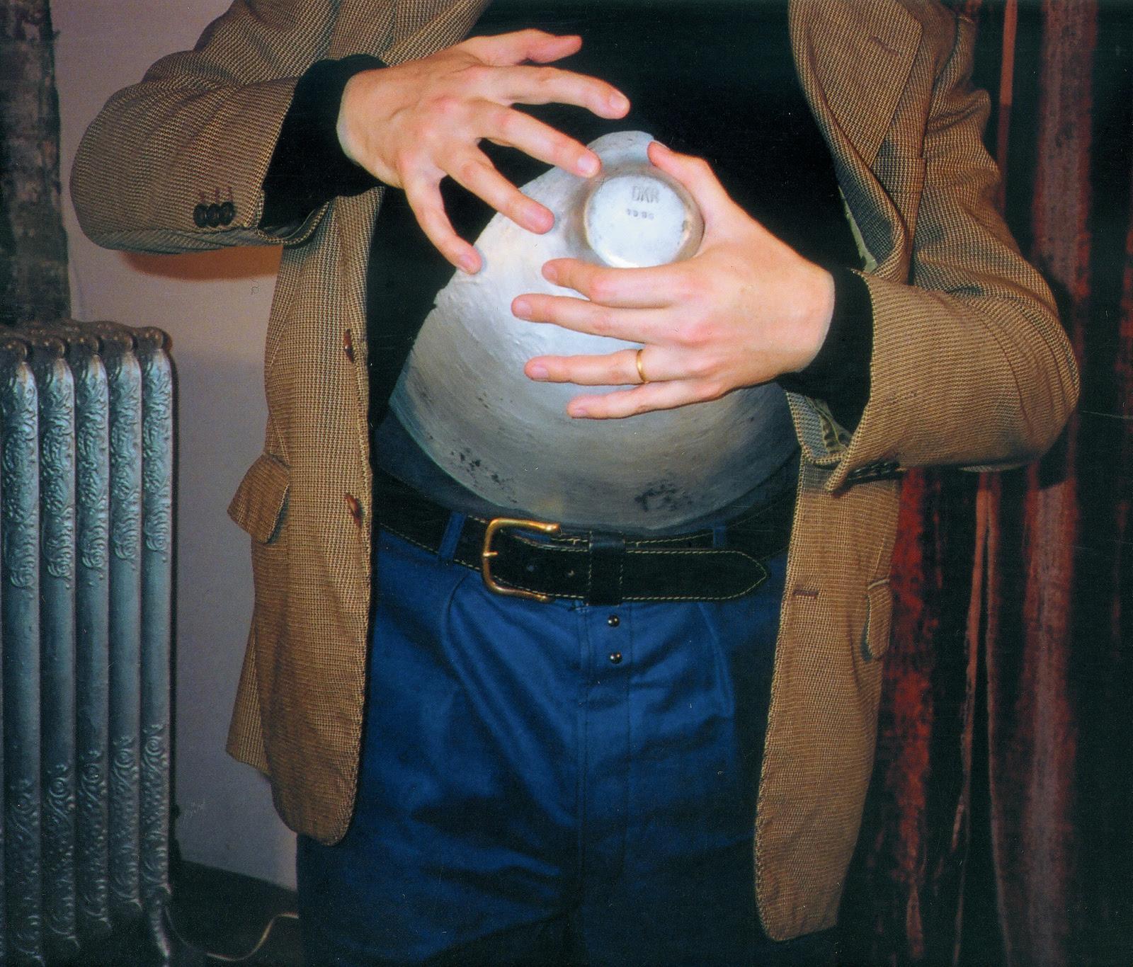 Adrian Dannatt intervention, March 2005, video still, Jungle Red Studios, New York, New York