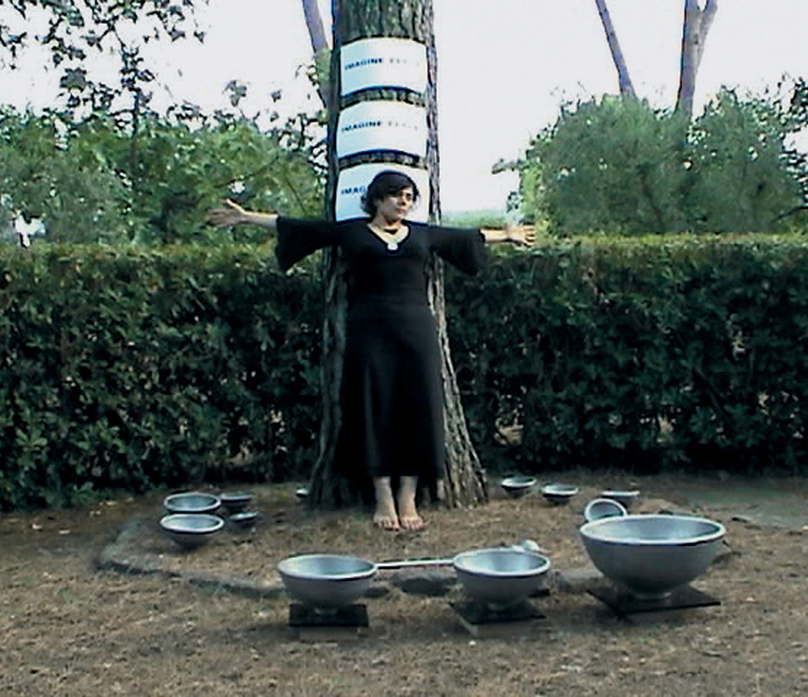 Sukran Moral intervention, June 20013, video still, Baruchello Foundation, Rome, Italy